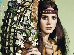 Lana Del Rey é capa da revista Madame Figaro