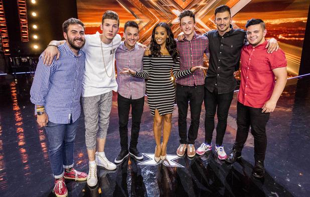 """uktv-x-factor-2014-tx-11-28-09-10 Mel B prefere não fazer performance no """"X-Factor UK"""""""