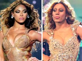 Ator Ícaro Silva arrebenta em homenagem a Beyoncé em programa de TV