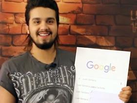 Buscando Meu Nome: Luan Santana descobre pesquisas sobre ele na internet!