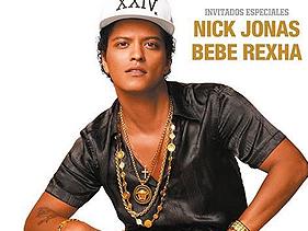 Bruno Mars contrata Bebe Rexha e Nick Jonas como atos de abertura para shows
