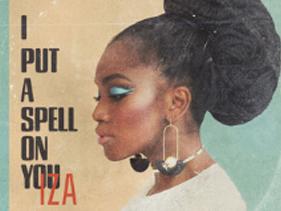 """IZA lança clipe para regravação de Nina Simone, """"I Put a Spell On You"""""""