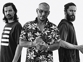 "ROCKline: Ouça ""Walk On Water"", o aguardado novo single do 30 Seconds to Mars"