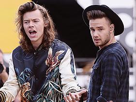 Liam Payne e Harry Styles ganham certificados solo nos Estados Unidos
