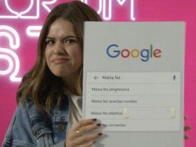 Buscando Meu Nome: Maisa ri ao descobrir o que pesquisam sobre ela na Internet