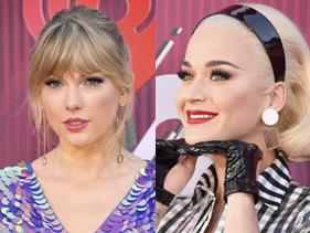 No iHeartRadio Music Awards 2019, Katy Perry responde se faria parceria com Taylor Swift
