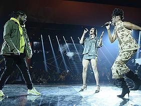 """MTV MIAW 2019: Emicida, Pabllo Vittar e Majur levam manifesto social em performance de """"AmarElo"""""""