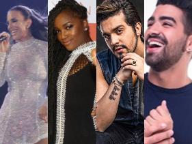 Ivete Sangalo, IZA, Wesley Safadão, Luan Santana e mais! Saiba as atrações do Show da Virada da Globo - POPline