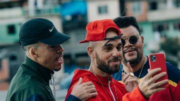 """Em """"Morrão"""", Papatinho convida Babu Santana e L7NNON para cantarem sobre o cotidiano no Morro do Vidigal, no Rio de Janeiro (Foto: WCnoClick)"""