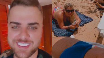 Após suspeitas de que foto de Zé Neto seria fake, cantor aparece com nova sunga
