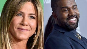 """Jennifer Aniston debocha da candidatura de Kanye West à presidência dos EUA e cantor rebate: """"Friends nem era tão engraçado"""". Foto: Getty Images"""