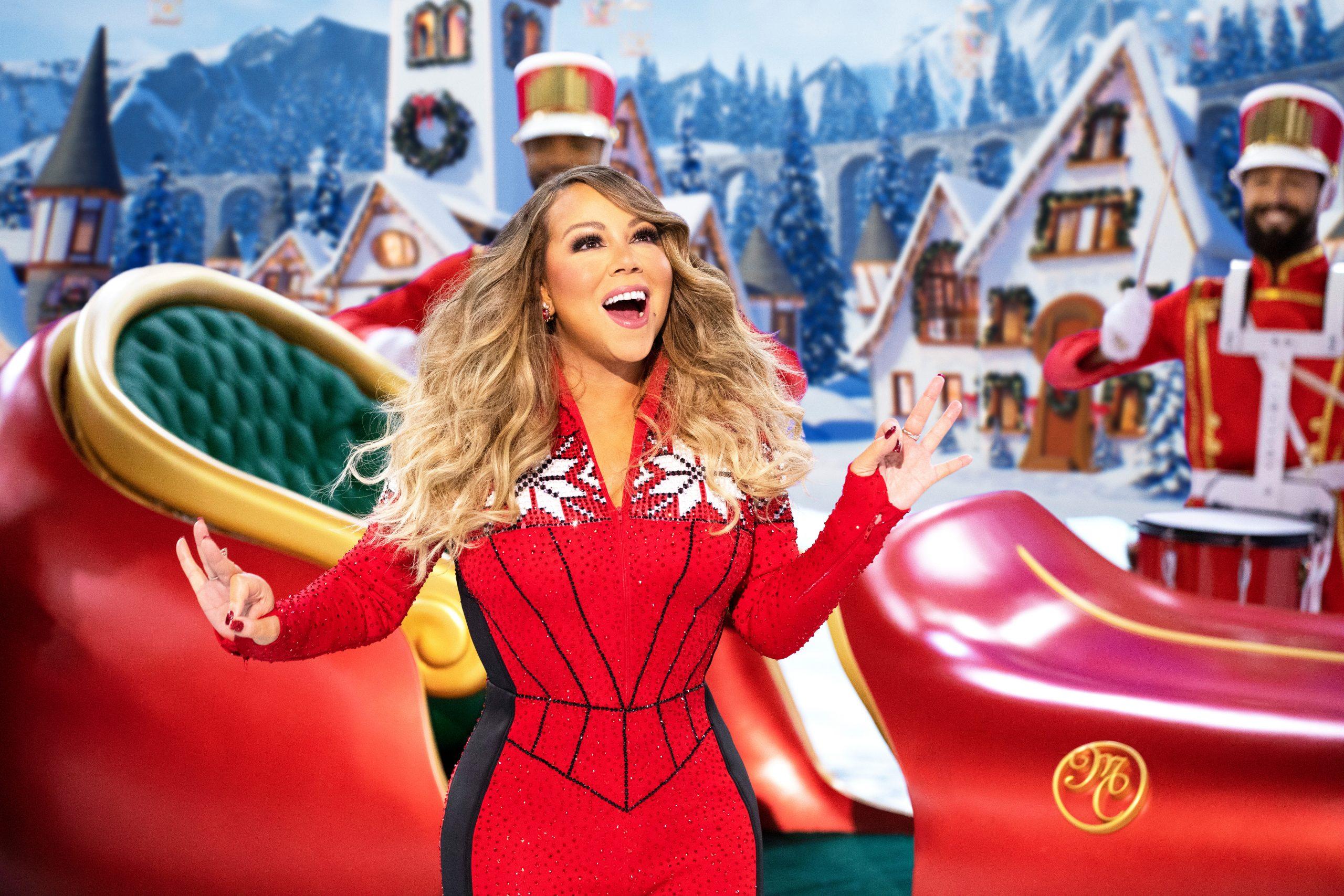 Mariah Carey no especial Mariah Carey's Magical Christmas Special Foto: Apple Imprensa