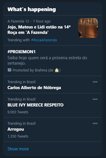 Blue Ivy Merece Respeito TRending Twitter