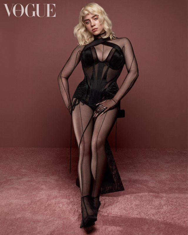 Billie Eilish é capa da Vogue UK e fala do álbum novo