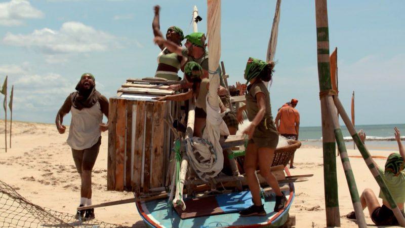 Tribo Calango vence prova de Privilégio No Limite