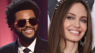 The Weeknd e Angelina Jolie: mídia especula sobre namoro