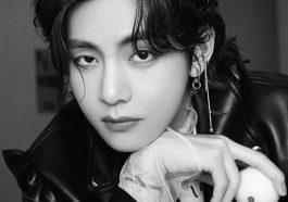 V, do BTS, é o eleito o homem mais bonito do mundo