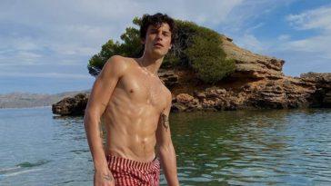 Shawn Mendes posta fotos sem camisa e fãs piram