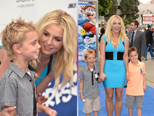 Os filhos de Britney Spears cresceram e você nem percebeu!
